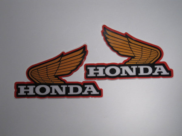 Honda, 1980, Large Wing Tank Decals