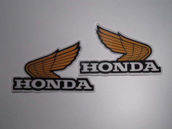Honda, 1981-82, CR, Rad Decals, Reproduction