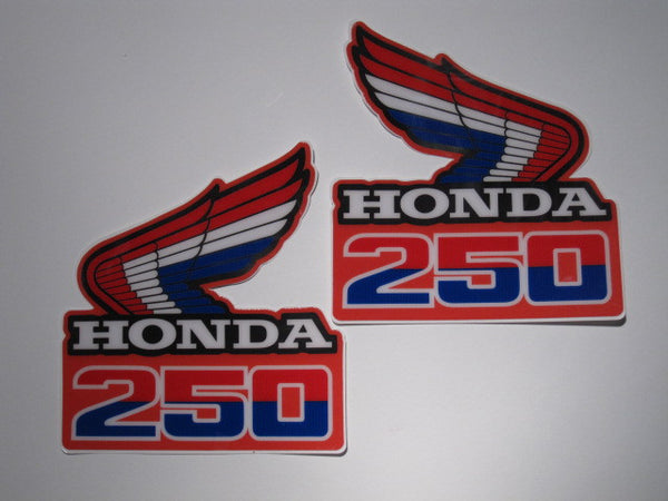 Honda, 1985, CR 250, Rad Decals
