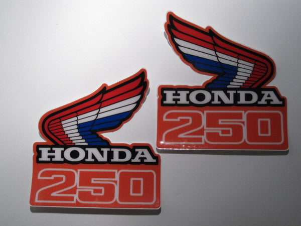 Honda, 1986, CR 250, Rad Decals