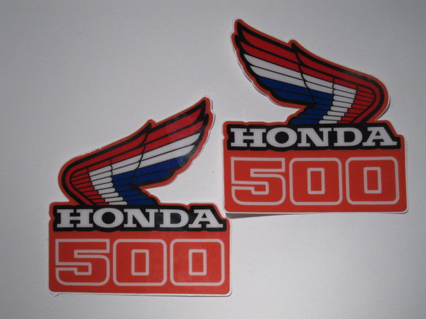 Honda, 1986, CR 500, Rad Decals