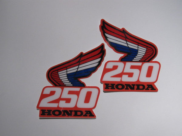 Honda, 1987, CR 250, Rad Decals