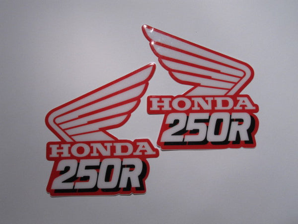 Honda, 1989, CR 250, Rad Decals