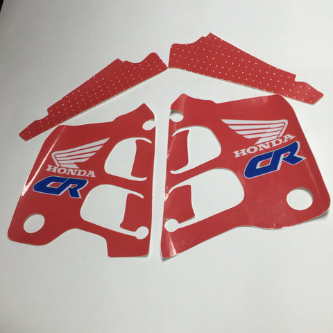 Honda, 1990, CR 250 Tank and Rad Decal Kit