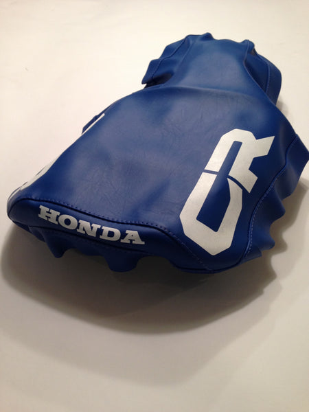 Honda, 1984, CR 125, Seat Cover, Reproduction