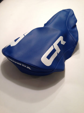 Honda, 1985, CR 500, Seat Cover, Reproduction