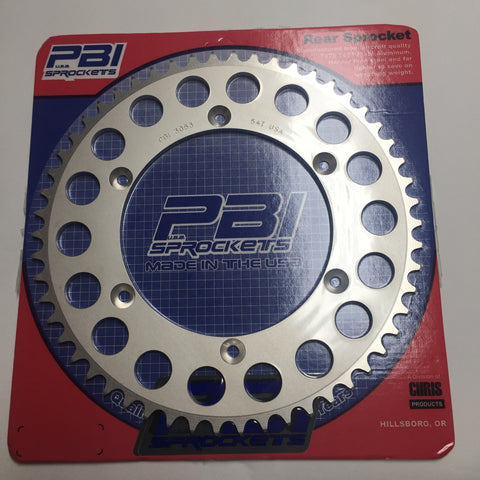 Honda, Rear Sprocket, 1982-83 Various CR models, see list below, 54 Teeth