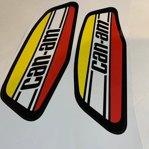 Can-Am, 1973-75 MX1/MX2 Tank Decals, + Scored, 3M-NEW!