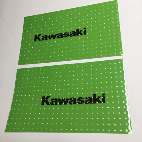 Kawasaki, 1979-80, KX, Self Cut Tank Decal Sheets