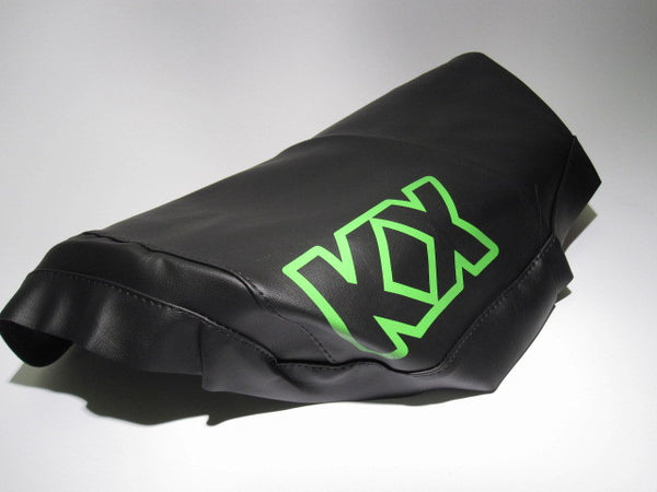 Kawasaki, 1982-83, KX 250, Seat Cover, Green KX Graphic