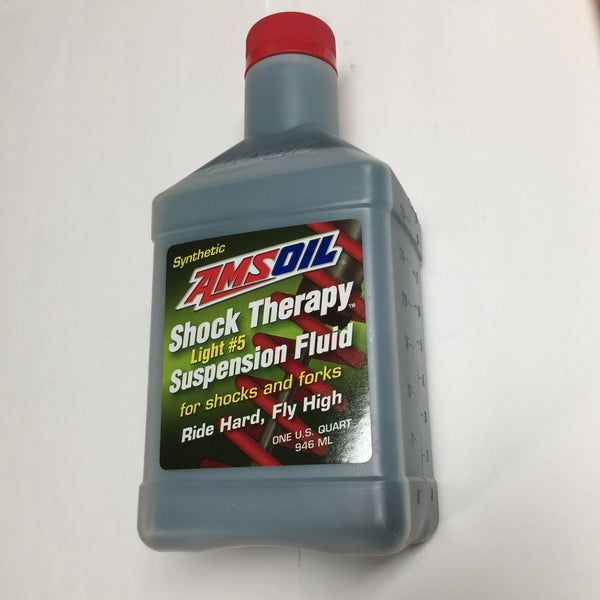 Amsoil Shock Therapy Suspension Fluid, Synthetic #5,For Shocks and Forks, Quart/946ml