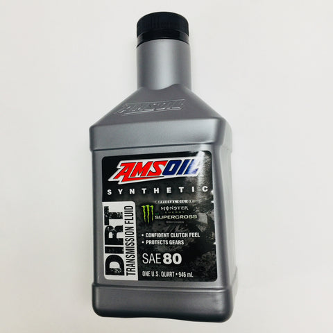 Amsoil Synthetic Dirt Bike Transmission Fluid, Quart/946 ml