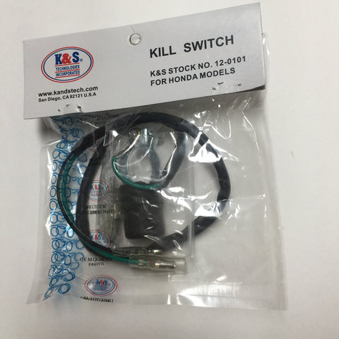 "Kill Switch, 29"" wire, Off-Road Honda CR, also fits Can Am, may fit other models"