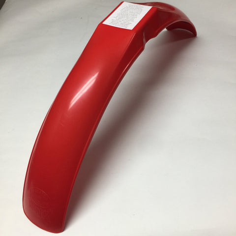 MX/IT Preston Petty, Vintage, Universal IB Muder Front Fender, Red