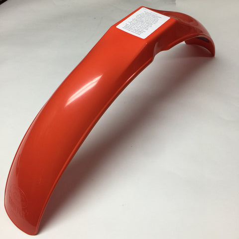 MX/IT Preston Petty, Vintage, Universal IB Muder Front Fender, Dark Orange