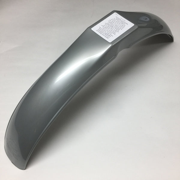 MX/IT Preston Petty, Vintage, Universal IB Muder Front Fender, Silver/Grey