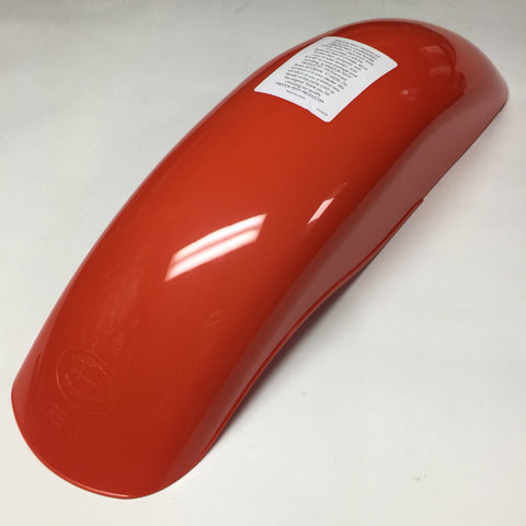 MX Preston Petty, Vintage, Universal Rear Fender, Dark Orange