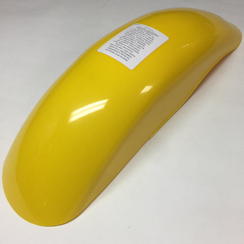 MX Preston Petty, Vintage, Universal Rear Fender, Dark Yellow