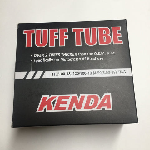 Kenda Inner Tube, 110/120/100-18, TR6 TUFF HD TUBE
