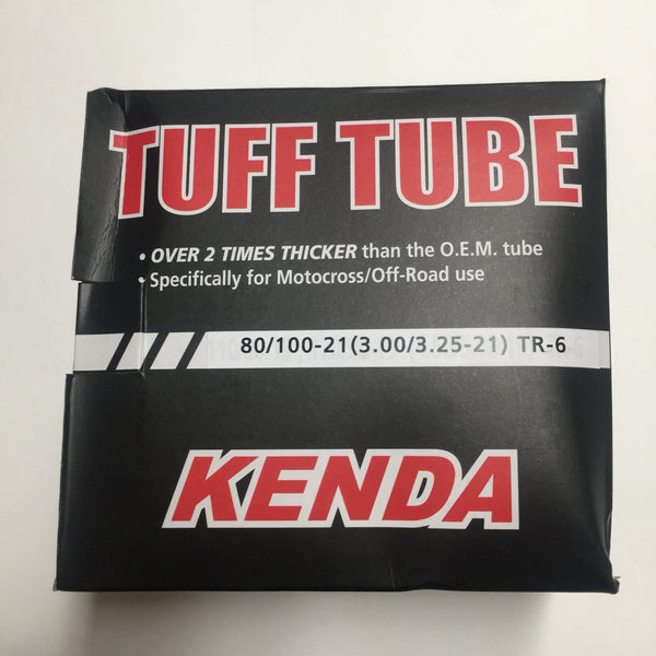 Kenda Inner Tube, 80/100-21, TR6 TUFF HD TUBE