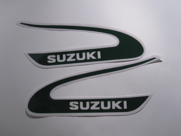 Suzuki, 1974, TM 250/400, Tank Decals
