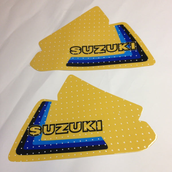 Suzuki, 1979, RM 250/400 (trim for 125), Tank Decals, Reproduction