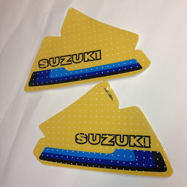 Suzuki, 1980, RM 250/400 (trim for 125), Tank Decals