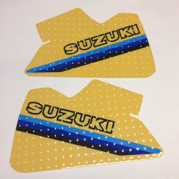 Suzuki, 1981, RM 250, RM 465, Tank Decals, Reproduction