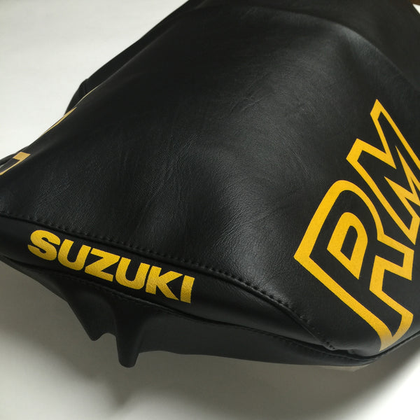 Suzuki, 1983, RM 125/250/500, Black Seat Cover (also fits 1981-82 RM)