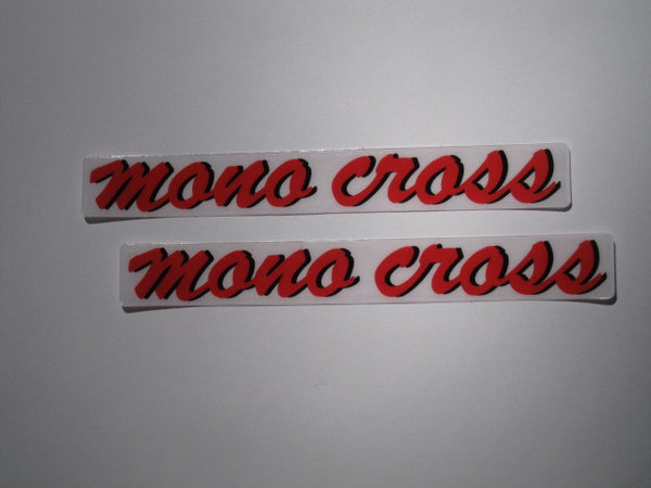 Yamaha, 1987-88, Mono-X Swing Arm Decals