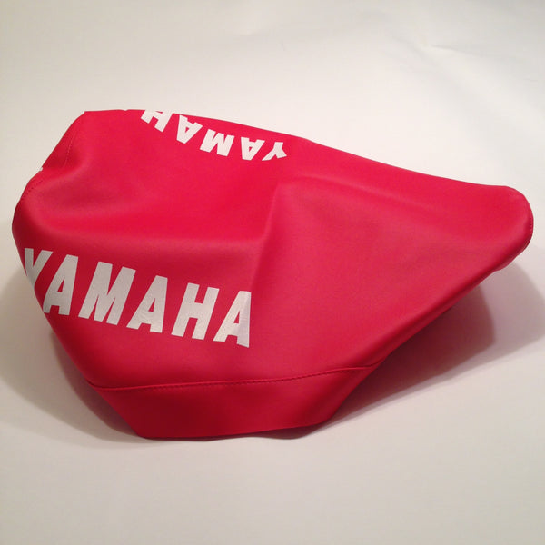 Yamaha, 1977-78, YZ 250/400, Red Seat Cover