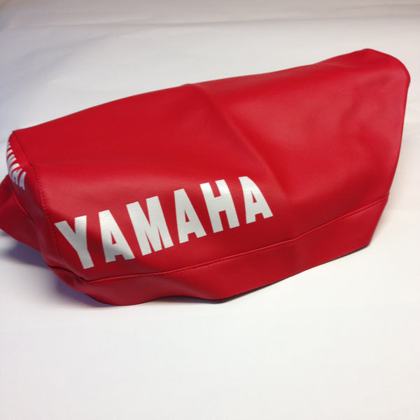 Yamaha, 1983-85, YZ 250/490, Red Seat Cover
