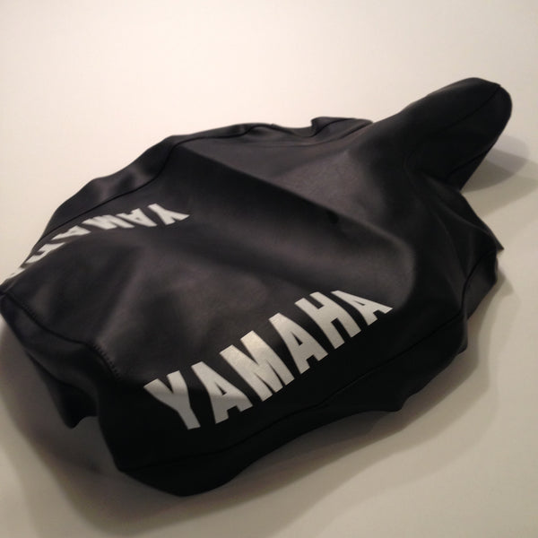 Yamaha, 1982, YZ 250/490, US, Black Seat Cover