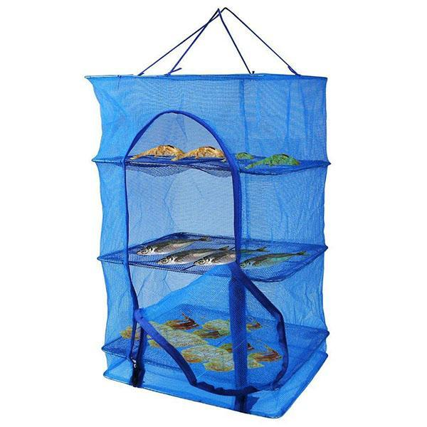 Multi-function Folding Fish Mesh Hanging Drying Net Food Dehydrator