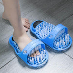 Suction Cup Style Foot - Washing Slippers