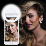 Rechargeable Selfie Ring Light(1 Set)