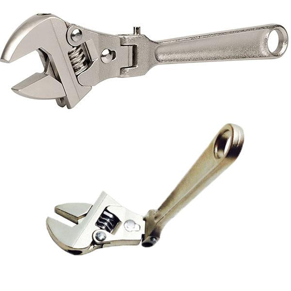 8 inch Adjustable Ratchet Wrench