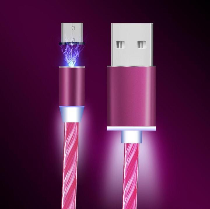 Glowing Magnetic Charging Cable