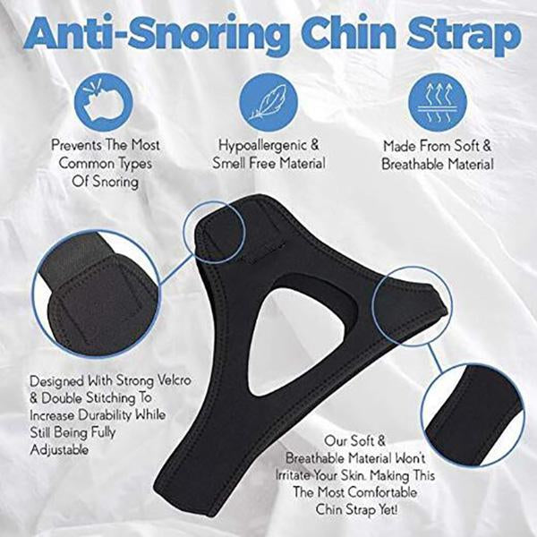 Anti-Snoring Chin Strap - Buy More Save More!!!