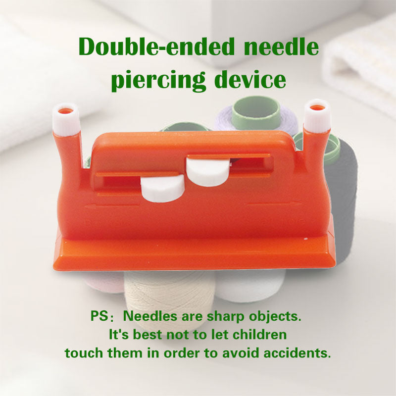 Needle threading device