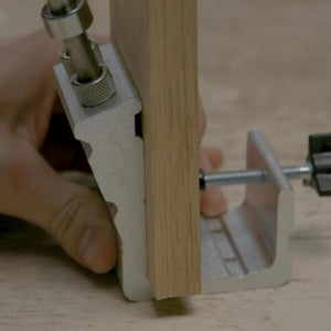 Hole Positioner For Woodworking