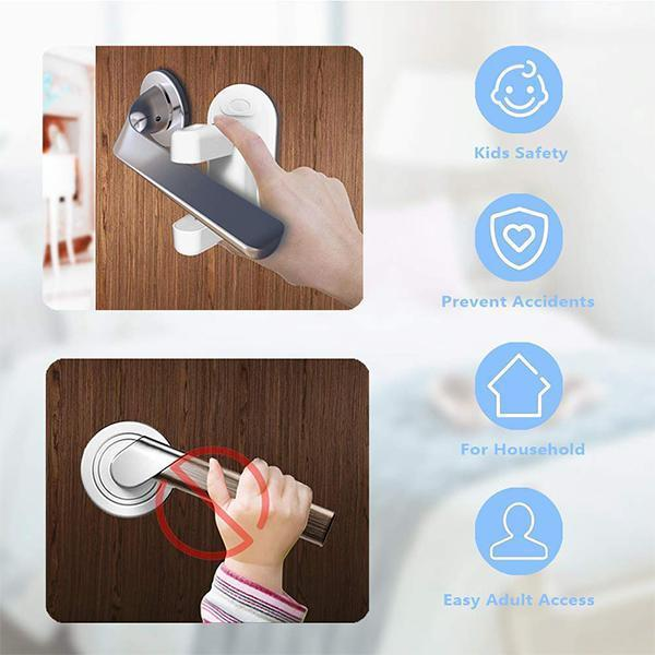 Child Safety Proof Doors Handle Lock