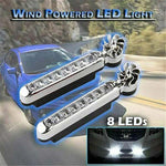 Wind Driven Car Front Lights With Fan Rotation
