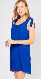 Nicole Royal Blue Dress