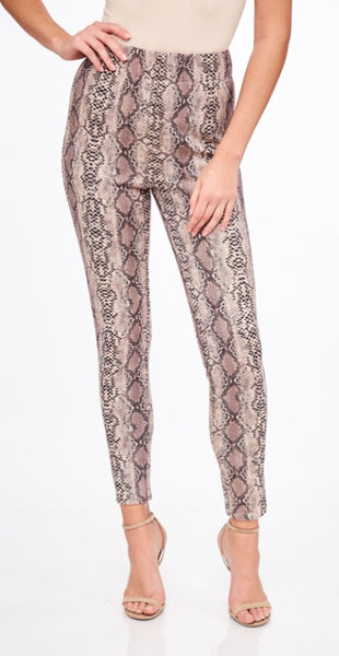 Taupe Snake Leggings