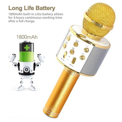 Bluetooth Microphone for Singing