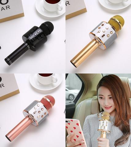 Bluetooth Karaoke Microphone for Car