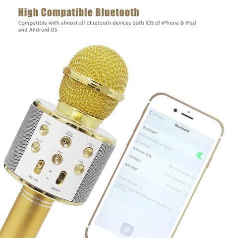 Wireless Bluetooth Microphone