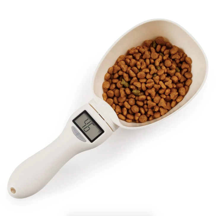 Pet Food Measuring Scoop with LCD