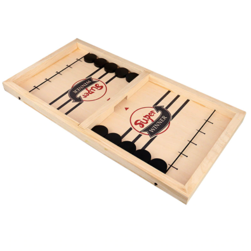 NorthFun™ Fast Sling Puck Board Game